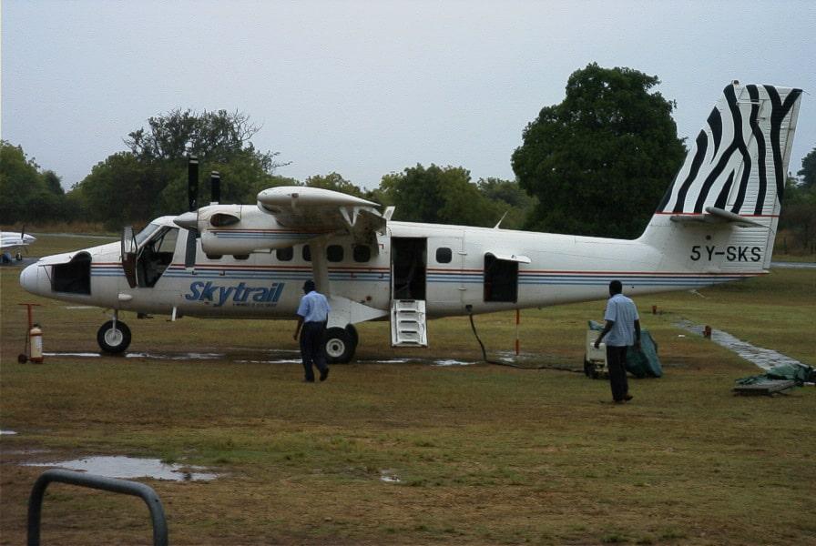 Fliegen in Kenia