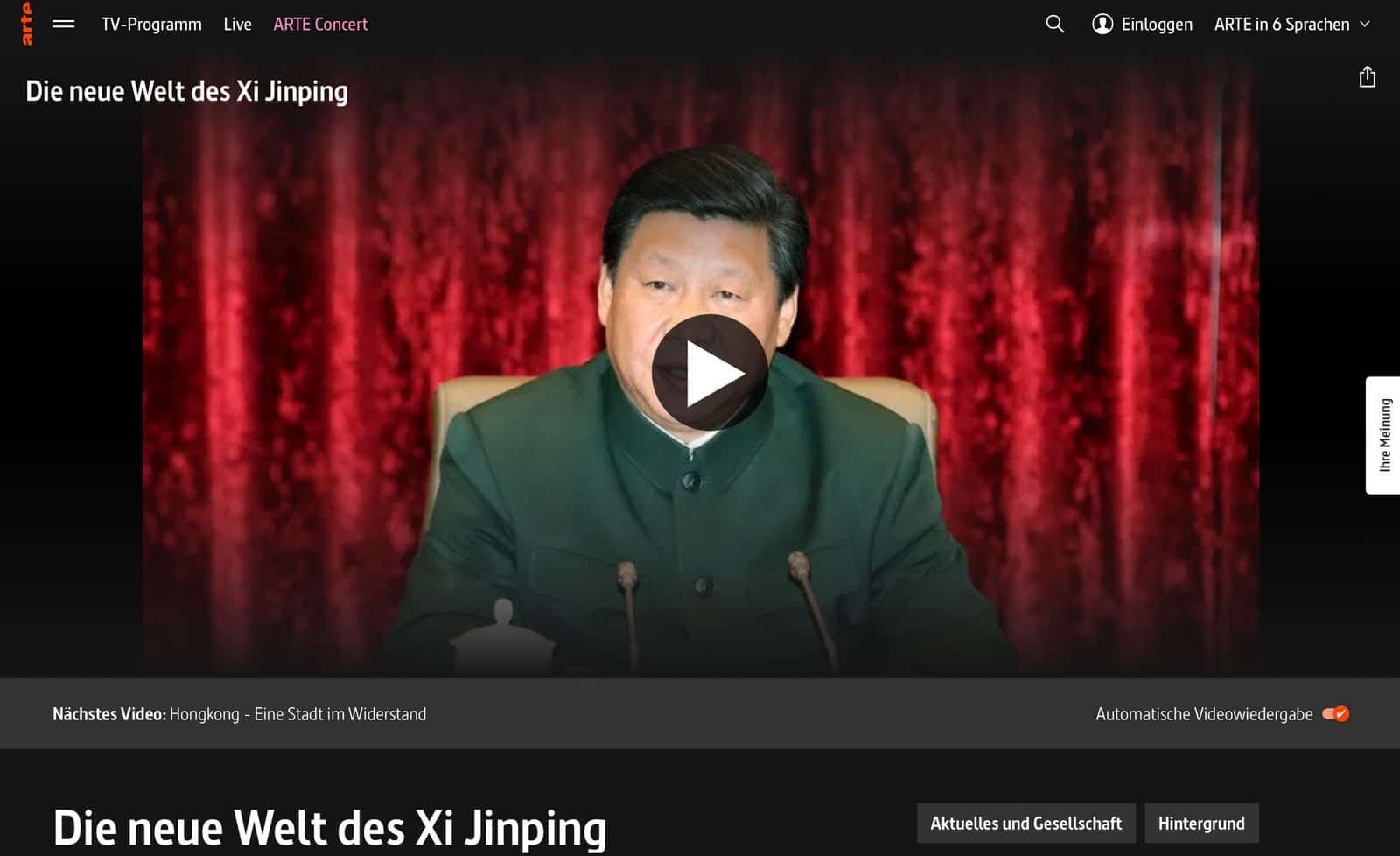Die neue Welt von Xi Jinping
